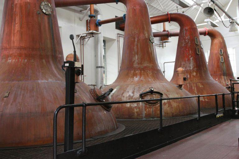 Destilatorji viskija
