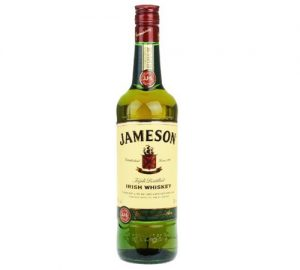 Jameson- Irish Whisky.